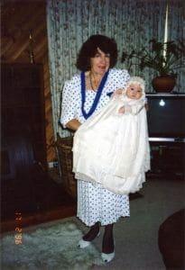 Anna before accident Feb 1996 - Trauma