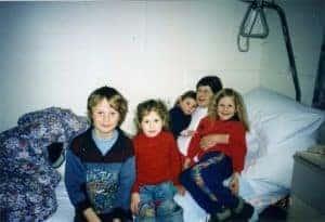 Anna in Rehab with Kids Aug 1997 - Trauma