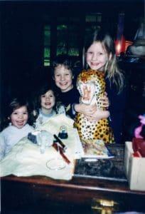 Kids - Christmas Yuonga Rd 1997 -New House New Chapter Life